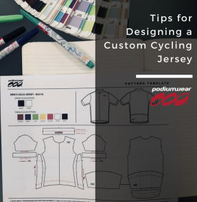 Podiumwear - Tips for Designing a Custom Cycling Jersey