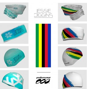 Podiumwear - Podiumwear Offers Jessie Diggins Hats, Headbands and Neck Cozies in Celebration of Her Historic World Championship Results