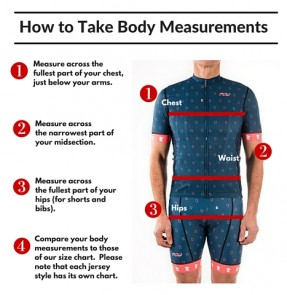Podiumwear - Getting the Right Jersey Fit Without a Size Set