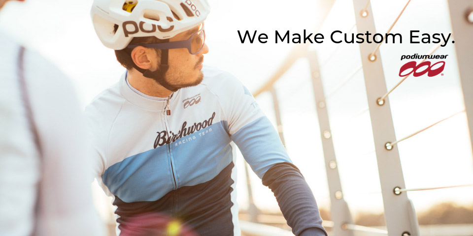 Podiumwear Custom Cycling Team Apparel - Made in Minnesota