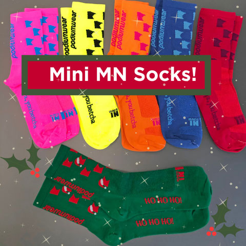 Mini MN Socks!