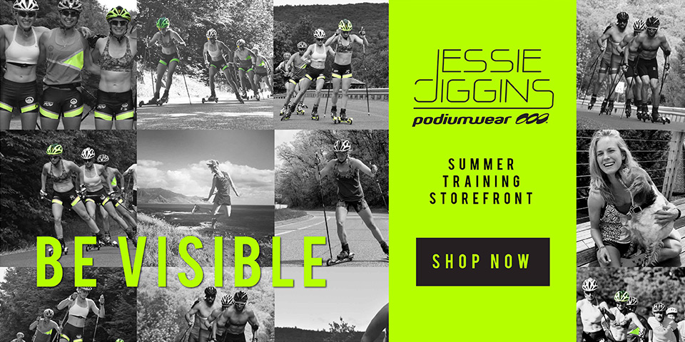 Jessie Diggins Summer Training - Shop Now