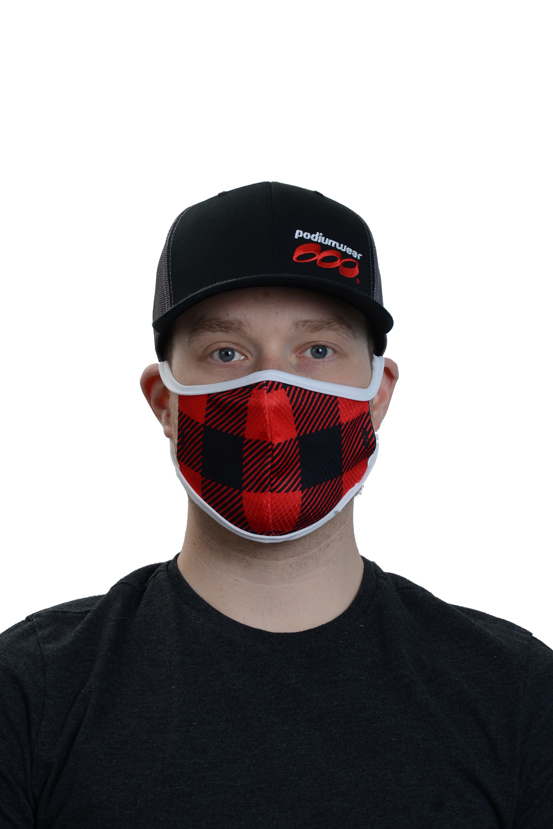 Podiumwear Custom One Layer Face Mask