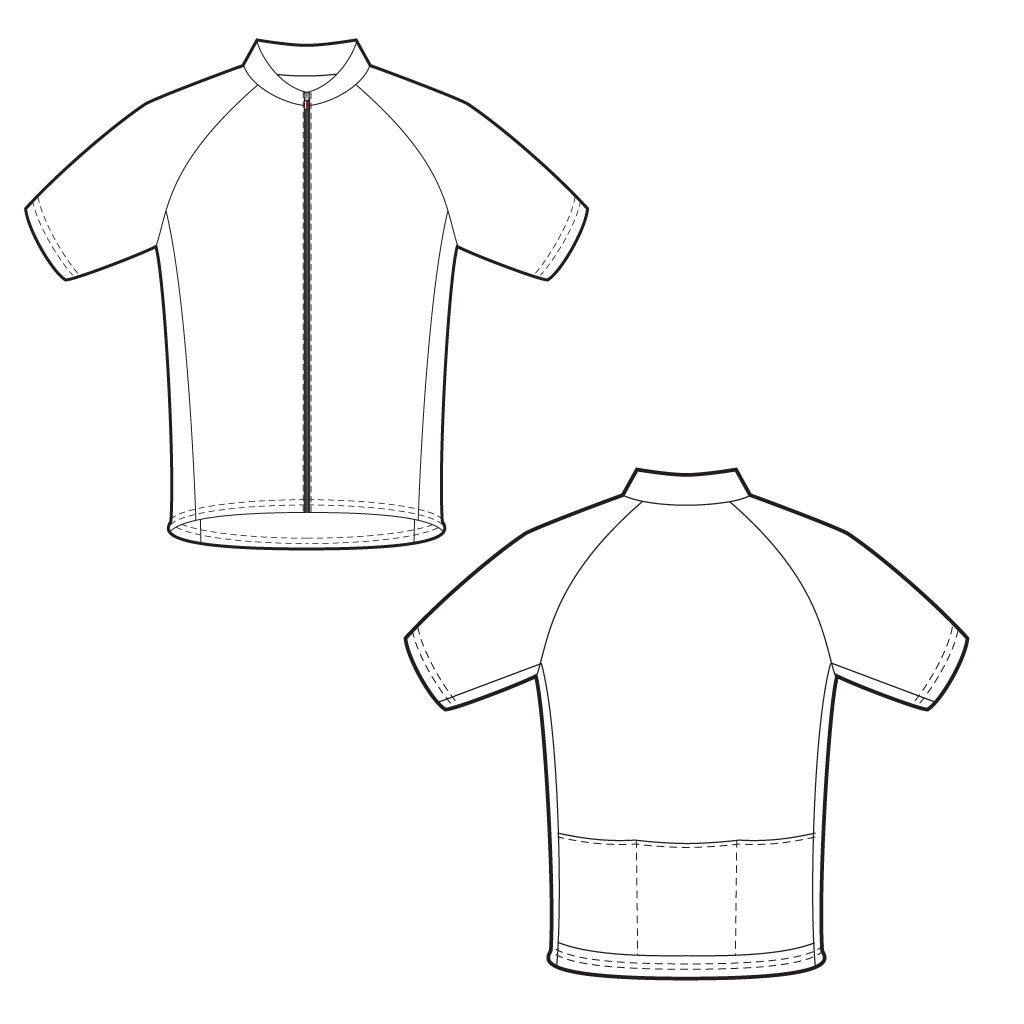 Custom cycling jerseys online designer design your own for Custom cycling jersey template
