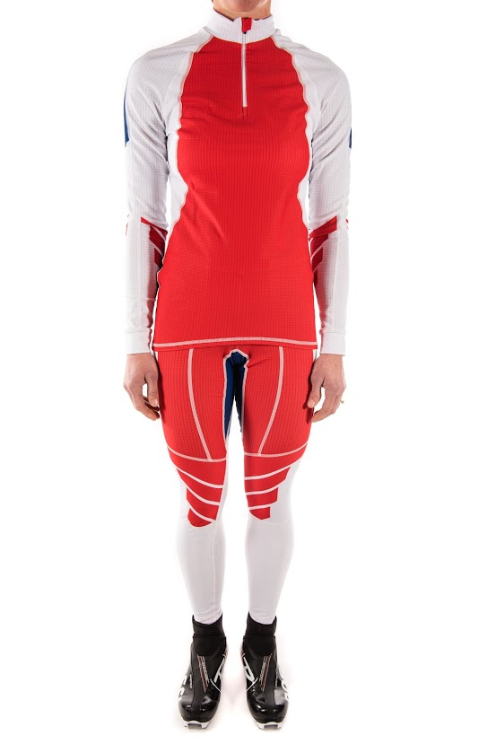 Podiumwear Women's Gold Two-Piece Race Suit