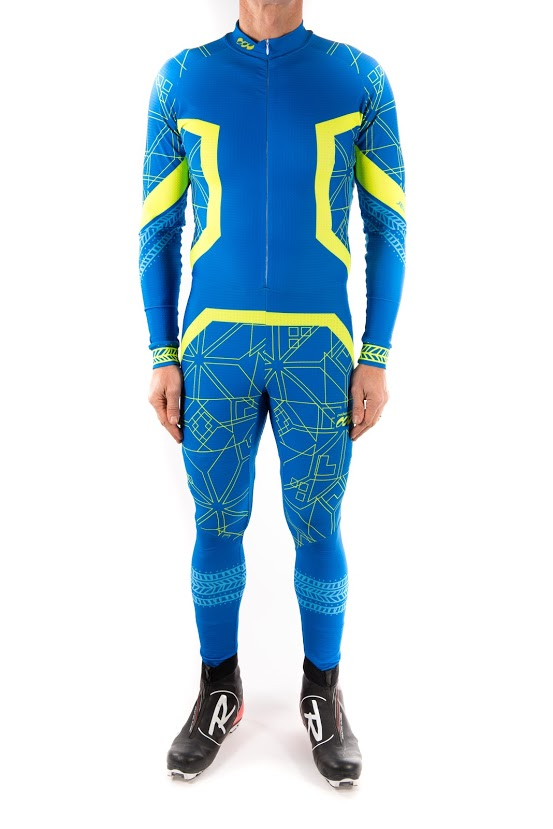 Podiumwear Men's Silver One Piece Race Suit