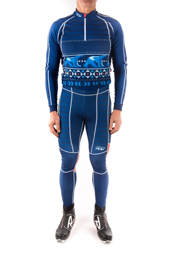 Podiumwear Unisex Gold Two-Piece Race Suit