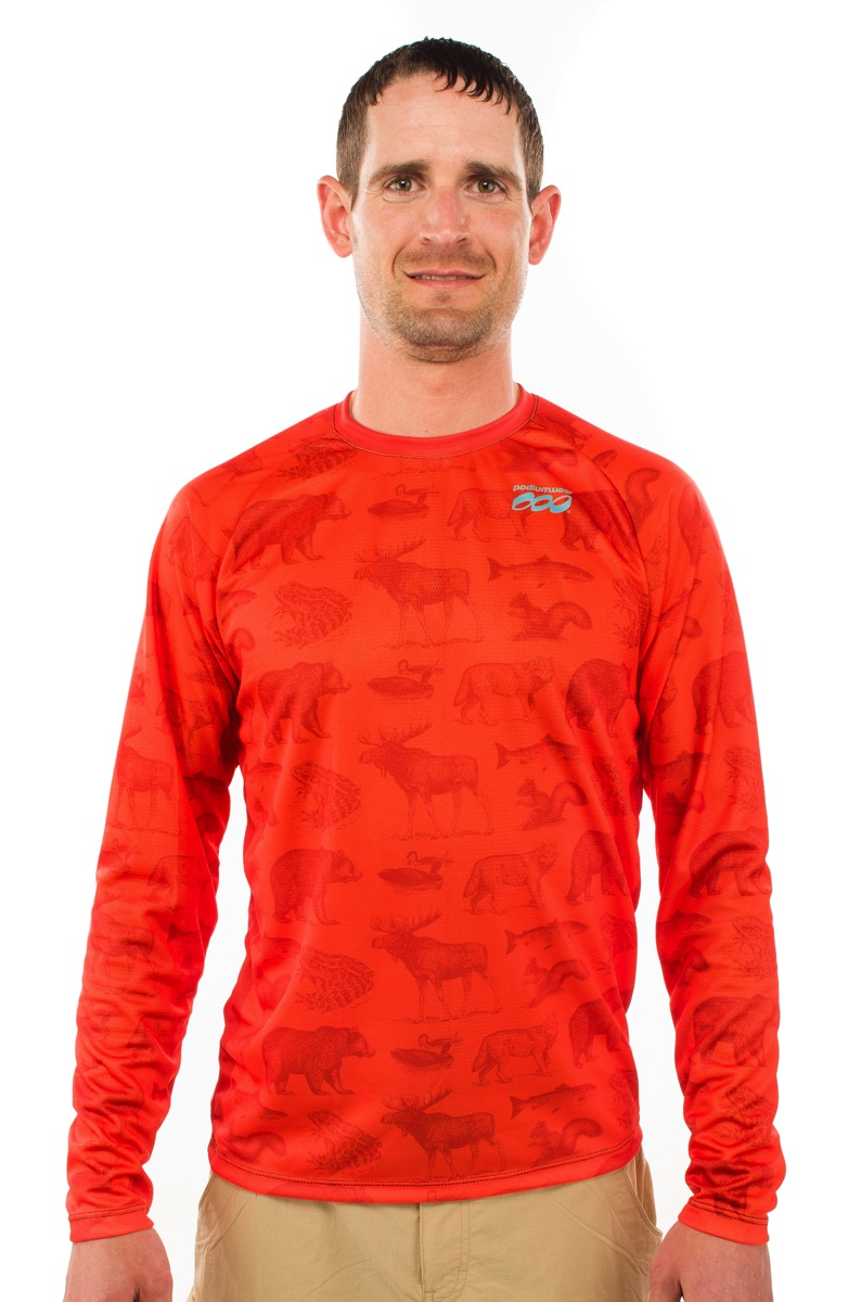 Podiumwear Men's Freeride Long Sleeve Jersey