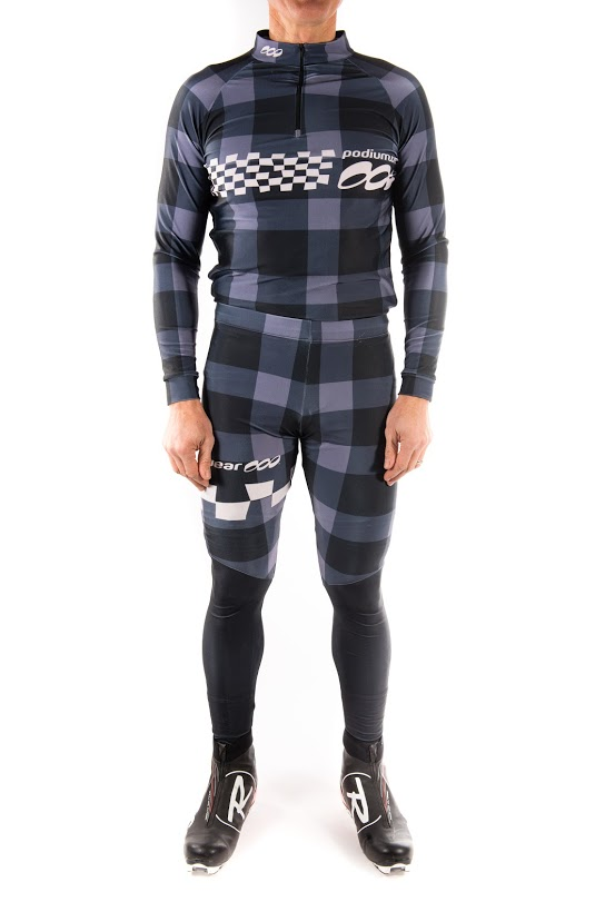 Podiumwear Unisex Bronze Two-Piece Race Suit