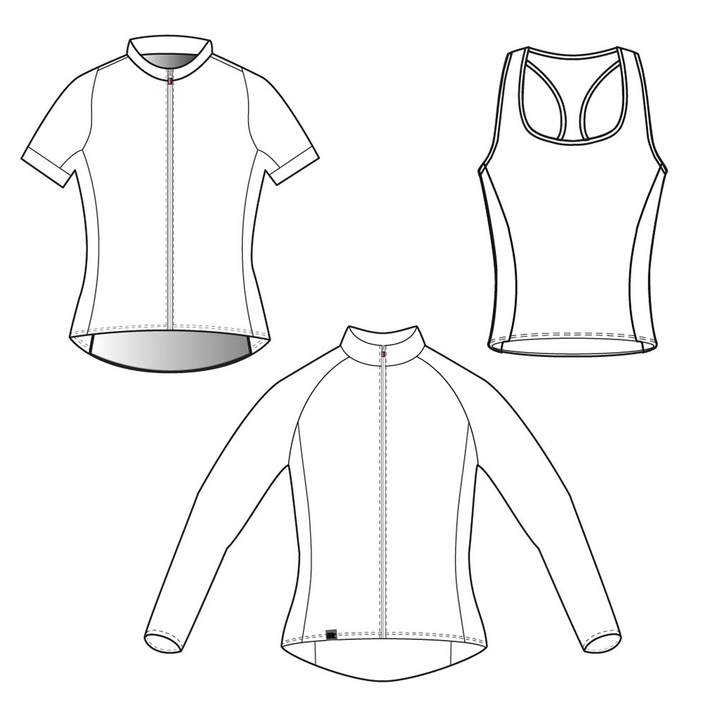 Podiumwear Women's Cycling Jerseys