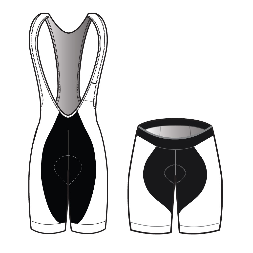 Podiumwear Women's Shorts and Bibs