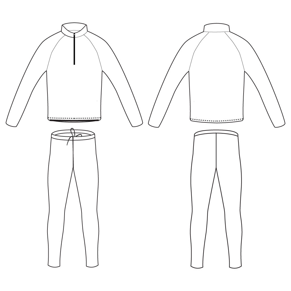 Podiumwear Nordic Child's Two-Piece Race Suit